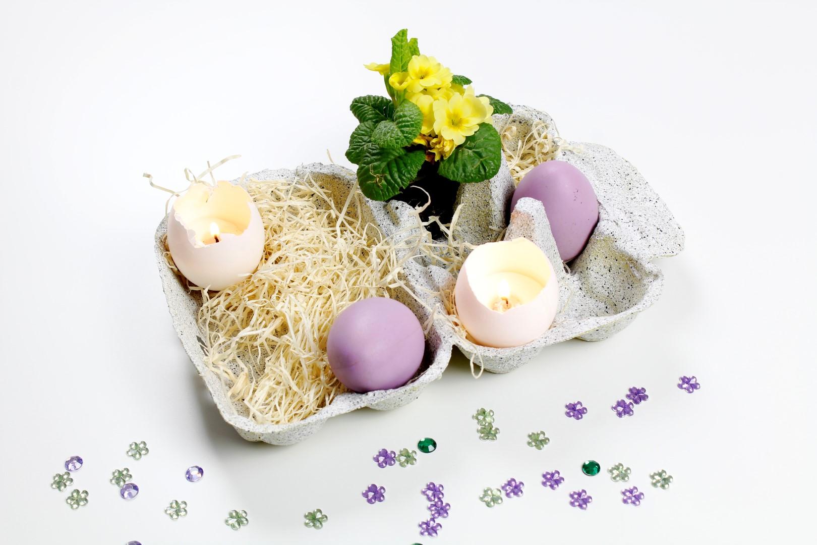 Schöne Dekoration für Ostern