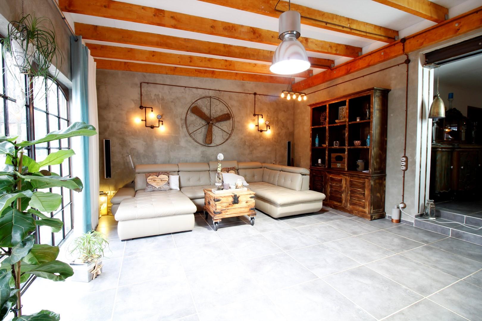 Wohnzimmer Im Industriedesign