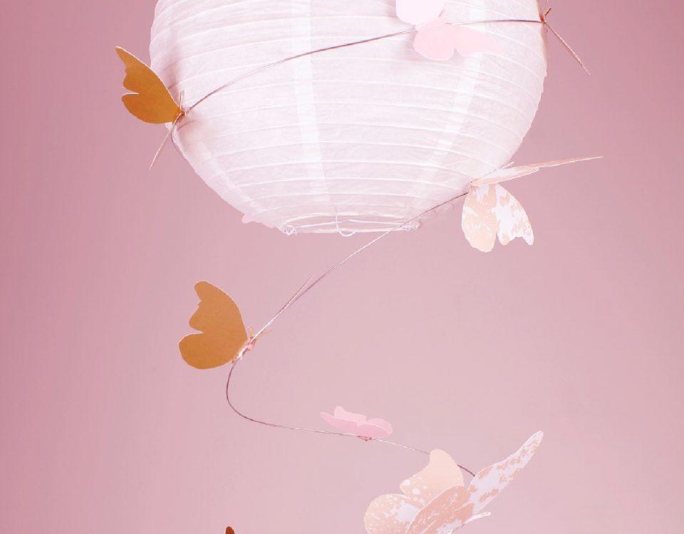 Kinderzimmer-Lampe-Schmetterling