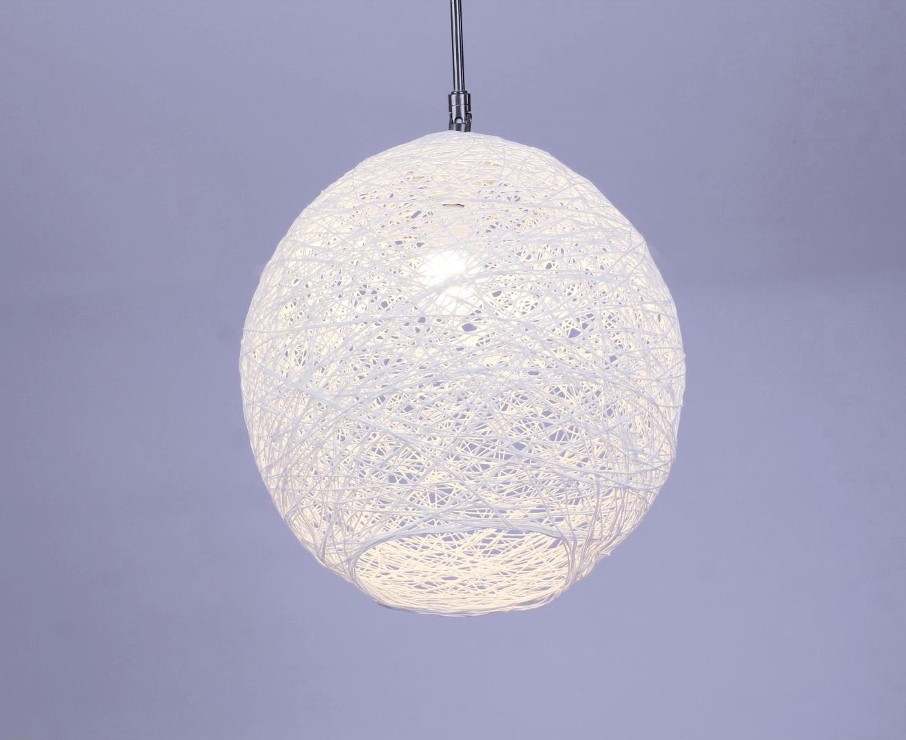diy lampenschirm aus wolle - super einfach und günstig