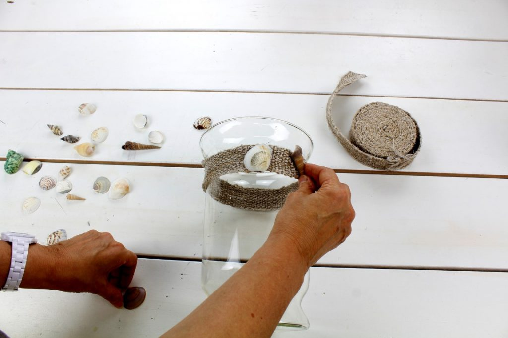 Muscheln-Sand-Maritim