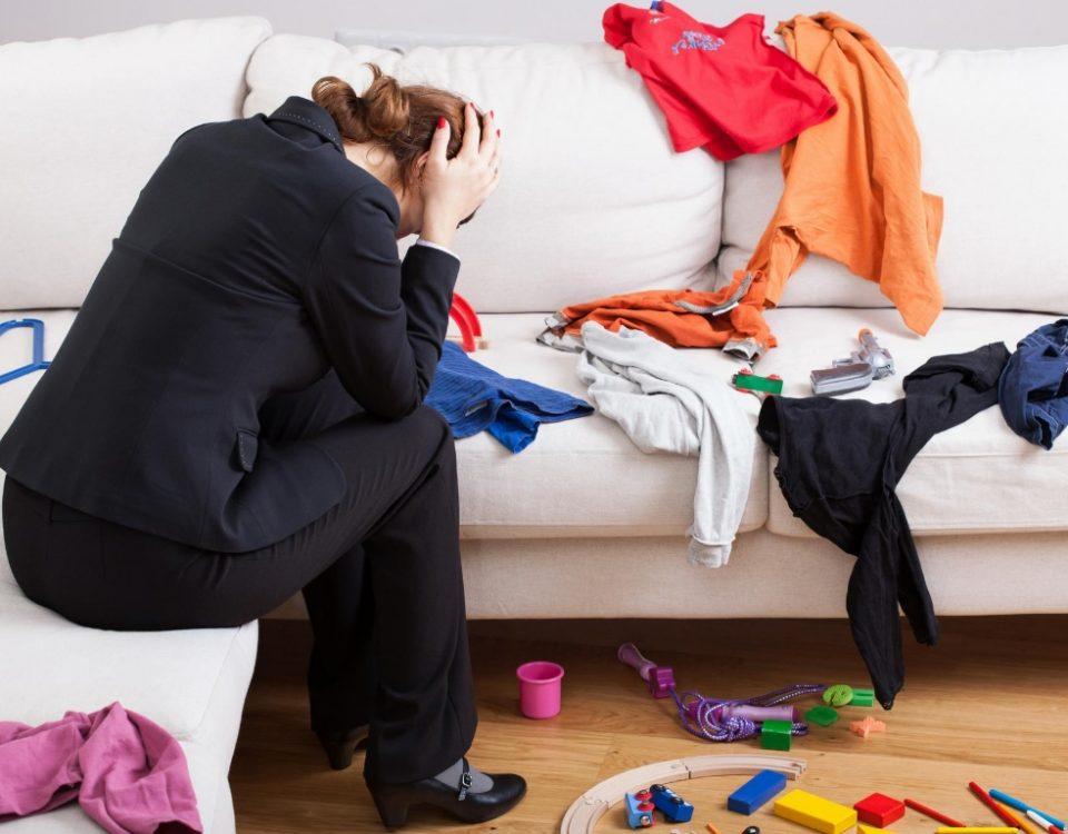 Hilfe beim Aufräumen