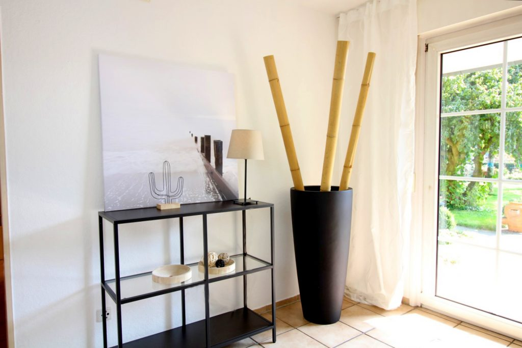 Pflanzkübel aus Fiberglas für innen und außen geeignet