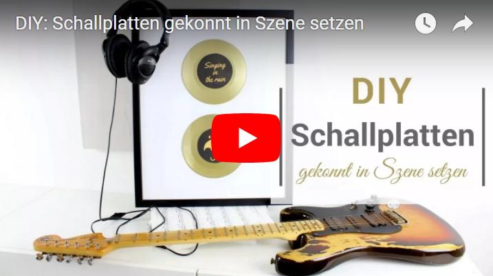 DIY- Schallplatten