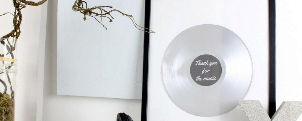 DIY-Schallplatte
