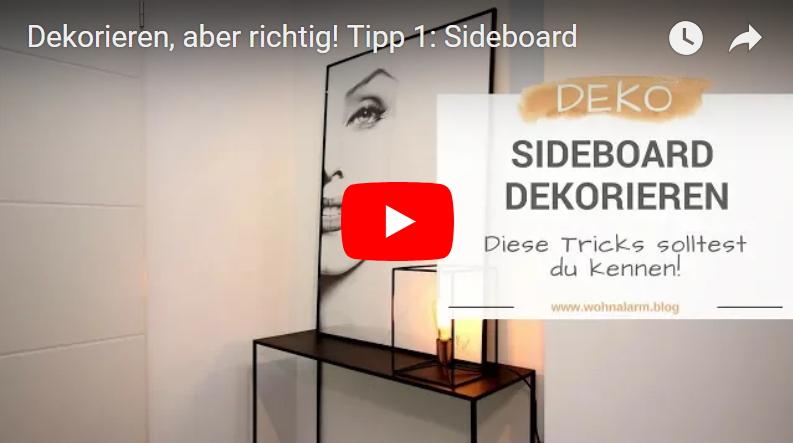 Sideboard-dekorieren
